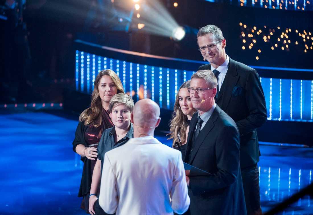 Årets Grannar är familjen Karlsson.