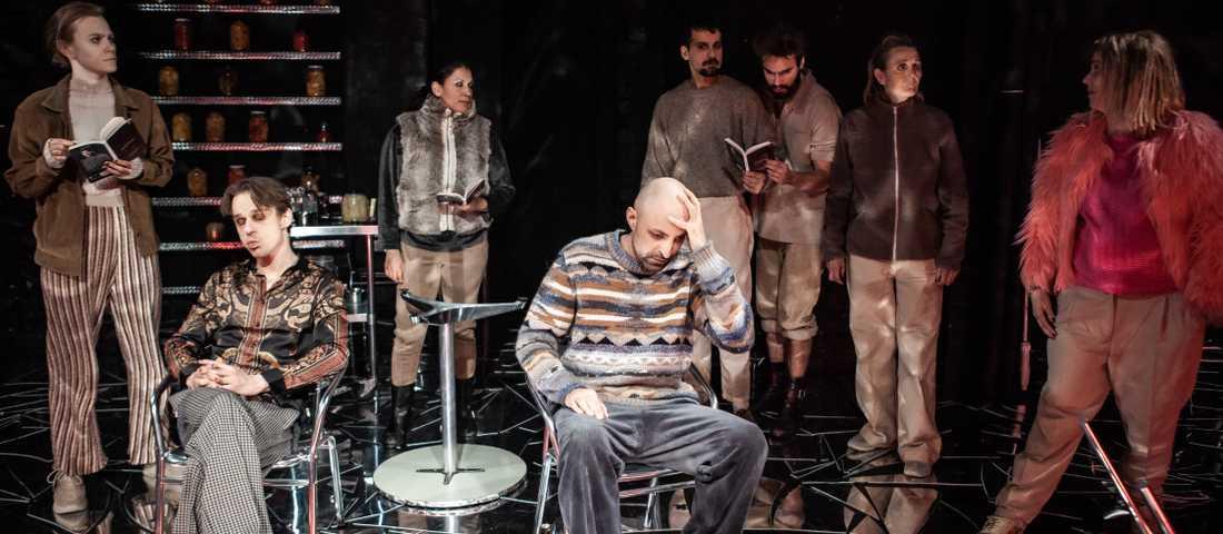 """""""Irakisk Kristus"""", dramatiserad av Teater Galeasen."""