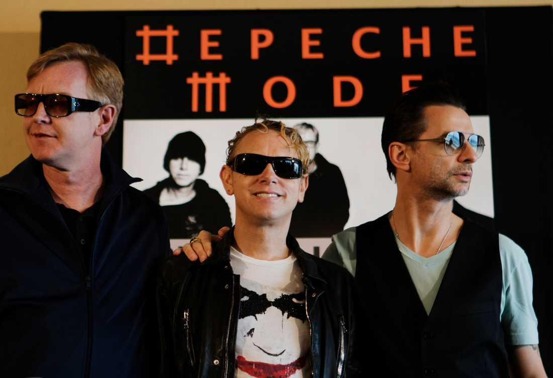 Depeche Mode samlat.