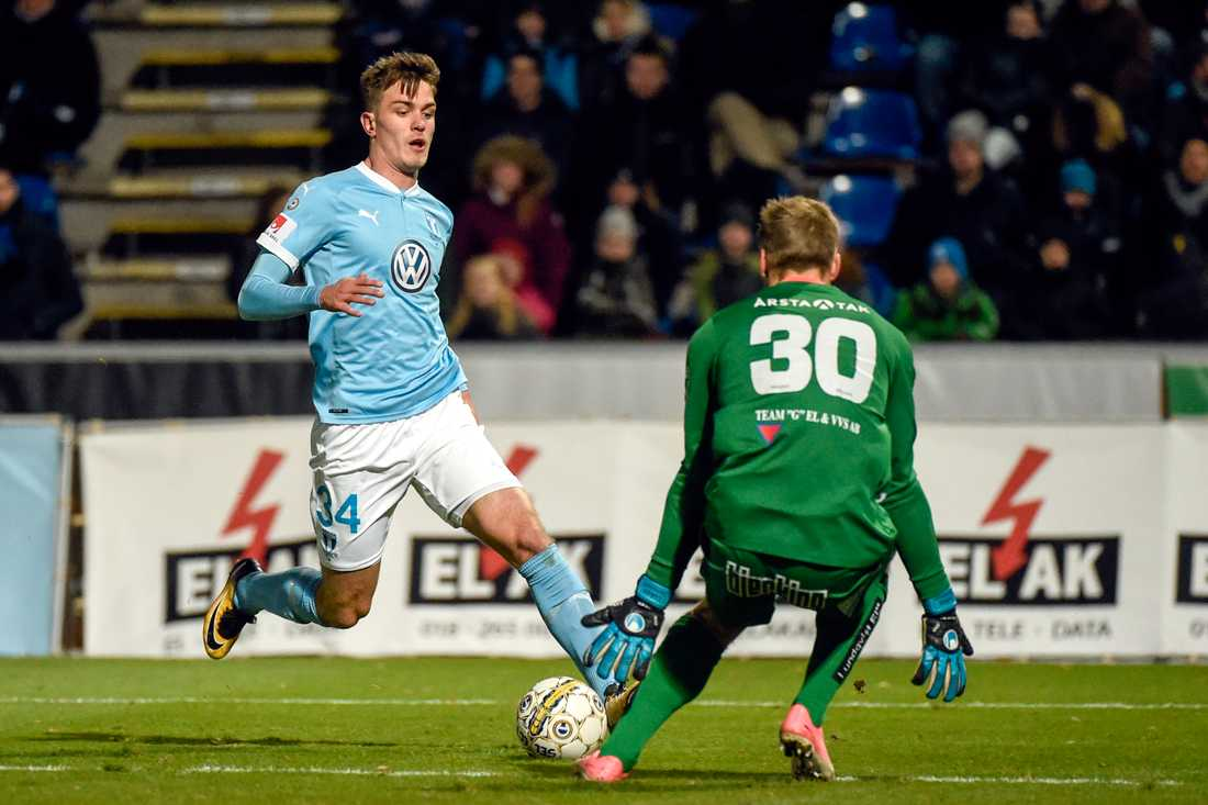 Pavle Vagic gjorde allsvensk debut redan 2017 borta mot IK Sirius.