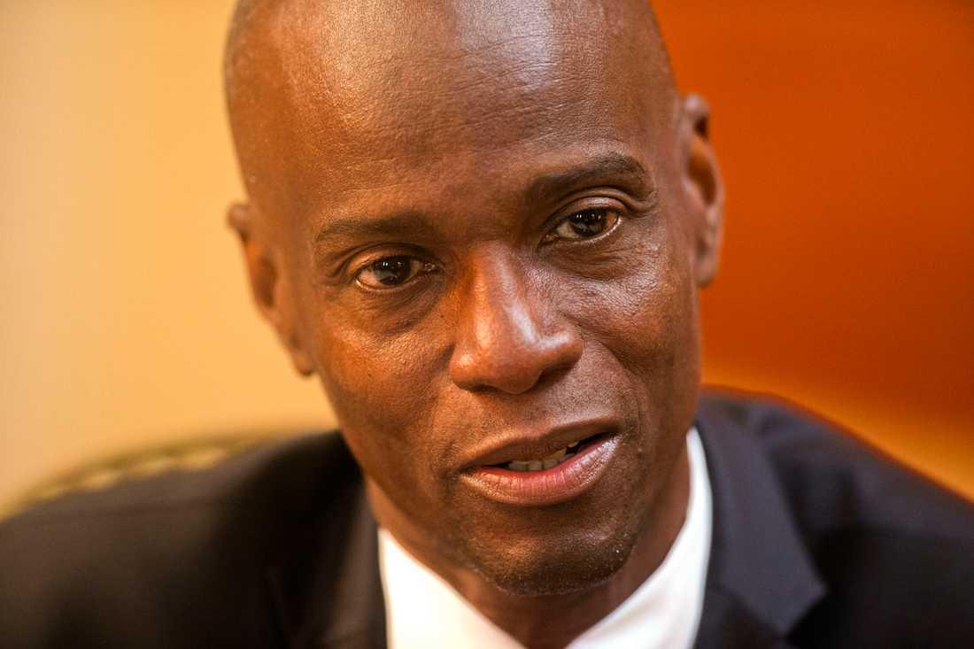 Haitis president Jovenel Moïse. Arkivbild.
