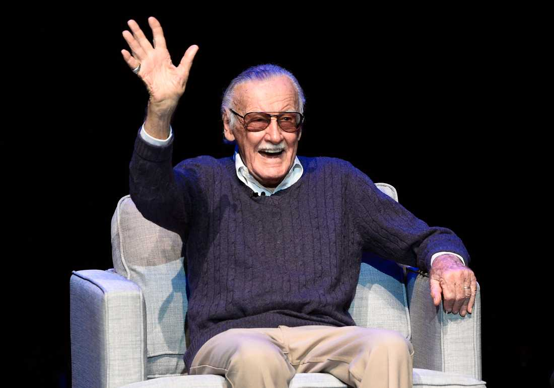 Stan Lee under ett event till hans ära 2017.