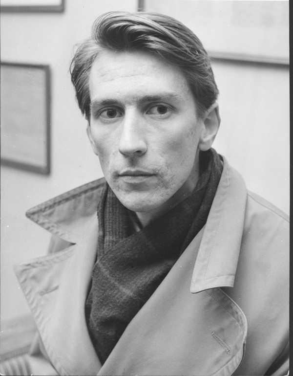 En ung Tomas Tranströmer år 1962.