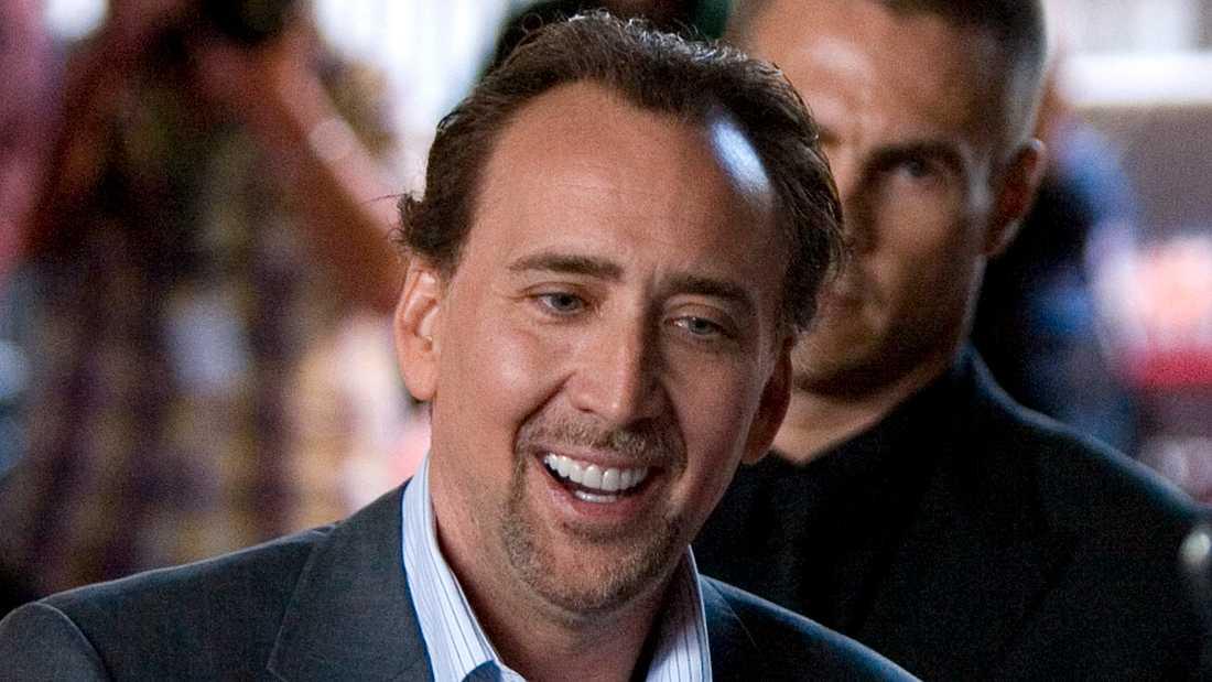 Nicholas Cage blir Joe Exotic.