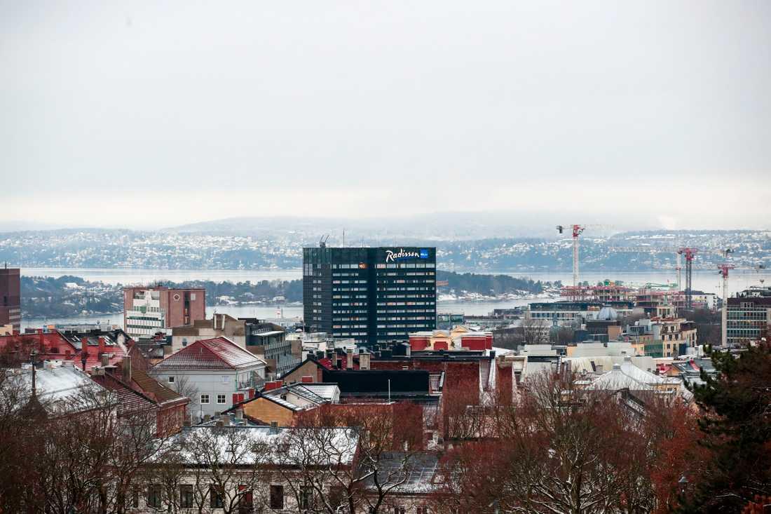 Norges huvudstad Oslo. Arkivbild.