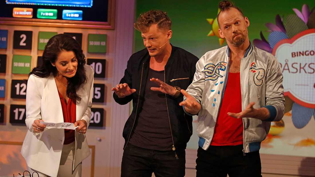 Brynolf & Ljung får Agneta Sjödin att häpna.