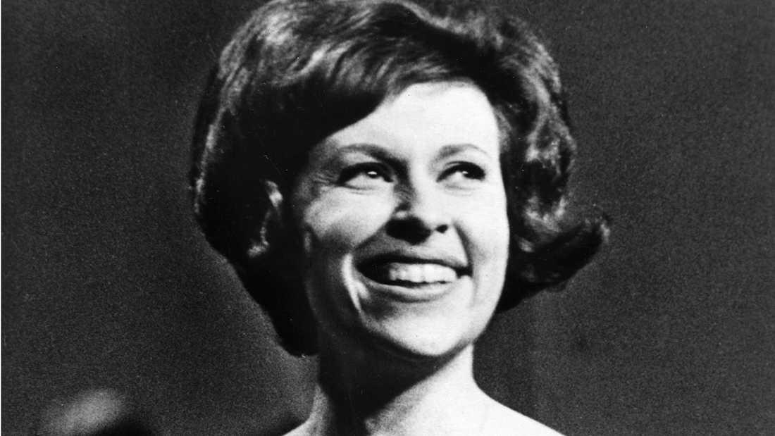 """1962 vann Inger Berggren Melodifestivalen med bidraget """"Sol och vår"""""""