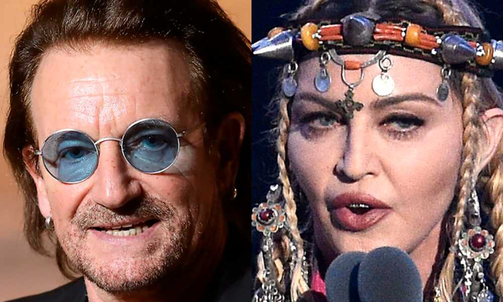 Bono och Madonna – antirasister som inte vill betala skatt.