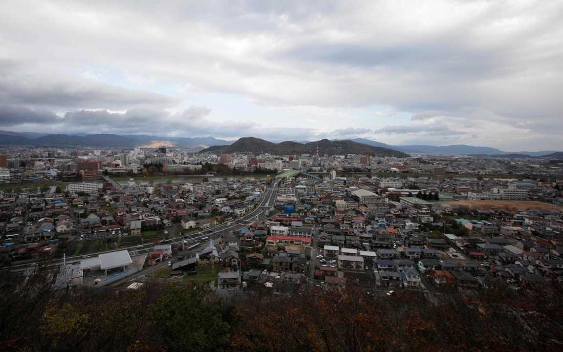 Wataridistriktet i Fukushima. Arkivbild från 2011.
