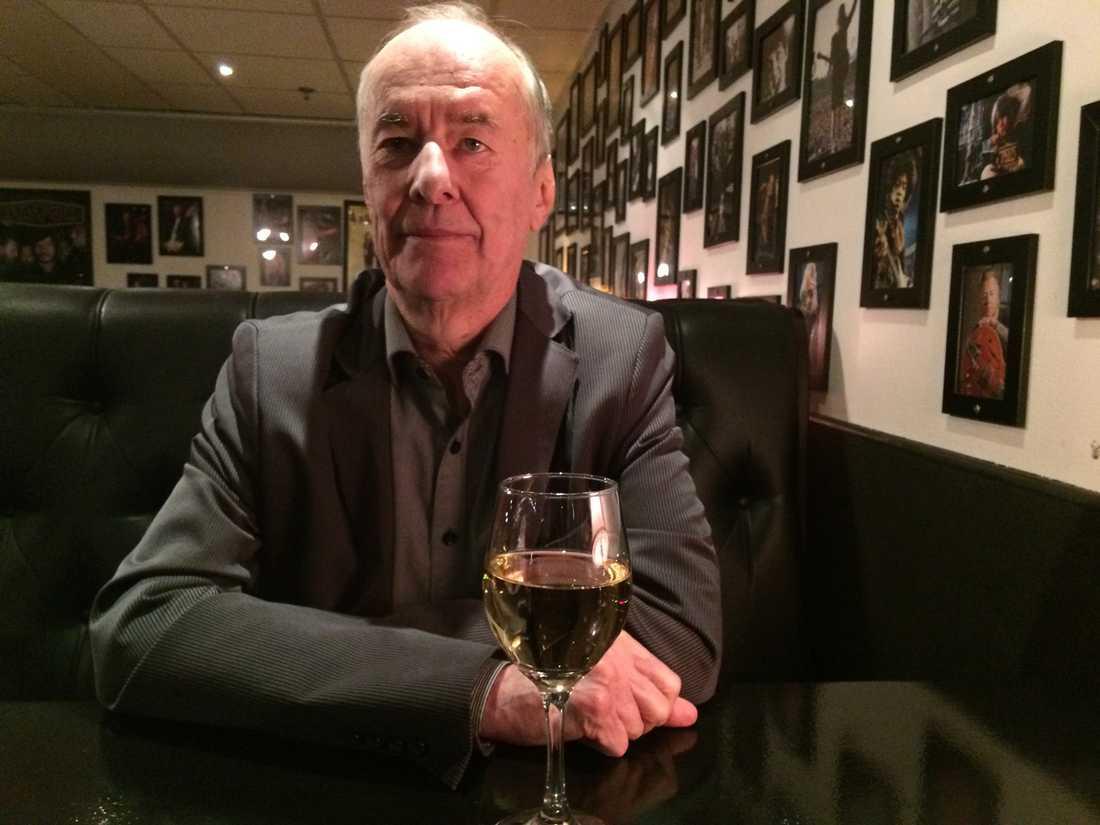 I dag fyller musikern Kjell Höglund 70 år. Och nu är han klar med låtskrivandet, meddelar han i en ny radiodokumentär. Foto: Magnus Thorén