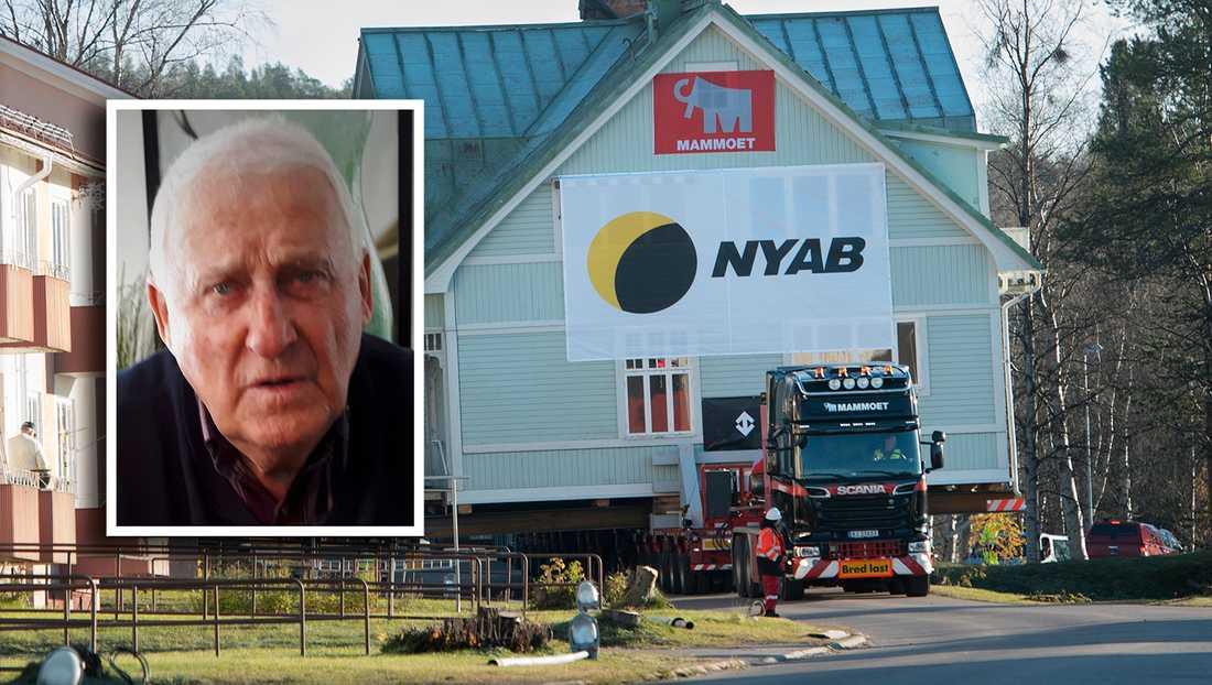Malmbergsbon Thage Johansson känner oro inför flytten från Malmberget. Redan har butiker och caféer stängt ihop, och för de som har hyreskontrakt väntar snart dubbel hyra, skriver debattören.