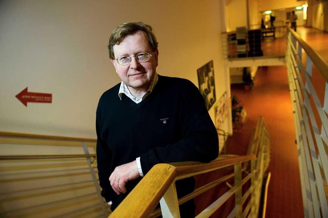 C-politikern och lektorn Hans-Erik Hellborg.