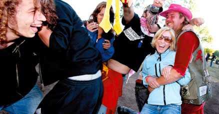Här är Hultsfreds risigaste tält | Aftonbladet