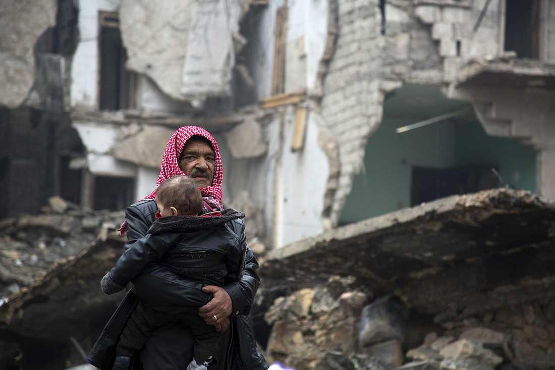 De civila i östra Aleppo har fått betala ett högt pris för de senaste veckornas strider