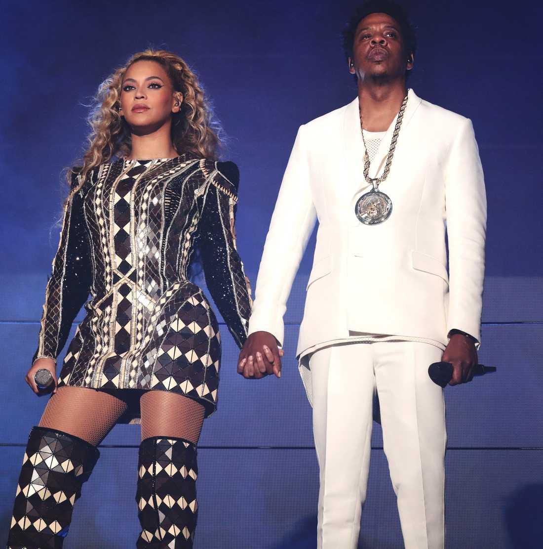 Jay Z och Beyoncé.