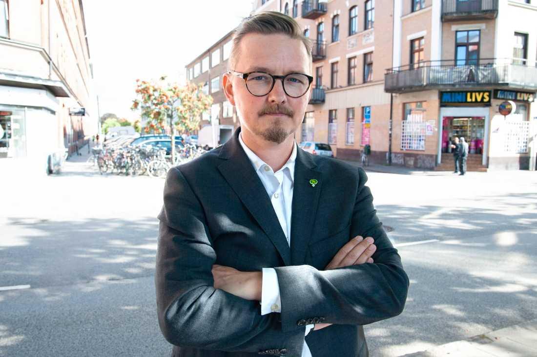 Janne Grönholm (MP).