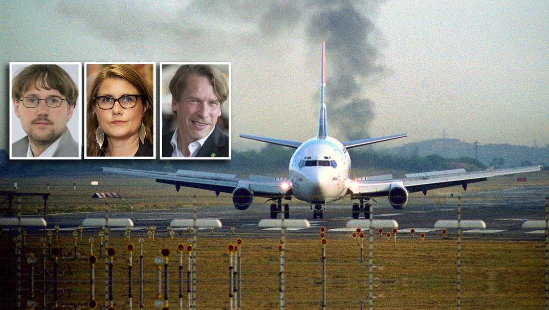 Lobbykampanjerna till trots så tycker en majoritet av svenskarna att det är positivt med flygskatten, skriver debattörerna.