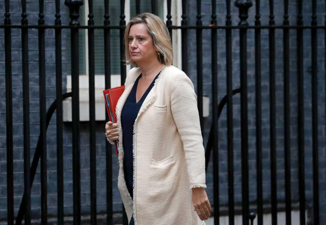 Amber Rudd lämnar Tories.