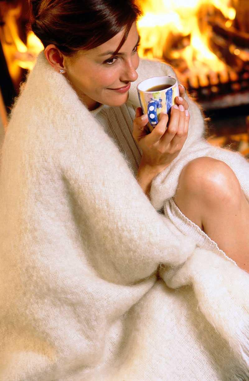 En kopp välgörande varmt te kan göra underverk för nattsömnen om du är krasslig.