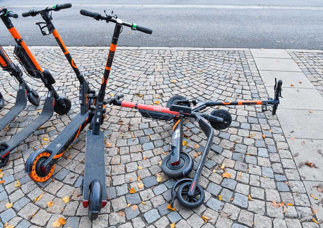 Elsparkcyklarna i Göteborg ska regleras hårdare framöver. Arkivbild.