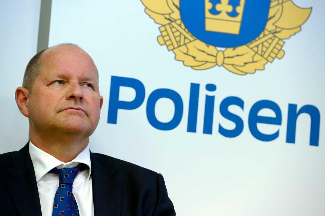 Rikspolischefen Dan Eliasson.
