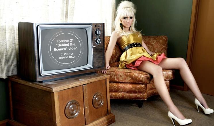 Bild från Forever 21s webbsida.