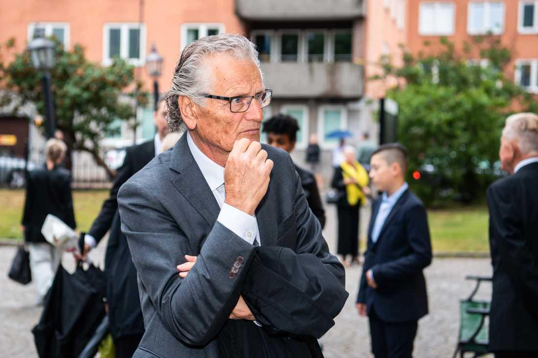 Bosse Petersson, tränare och tv-expert.