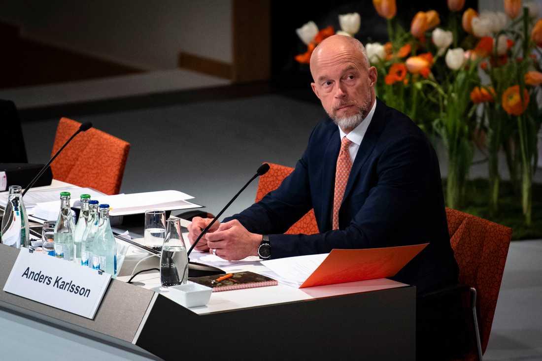 Anders Karlsson, Swedbanks nye VD.
