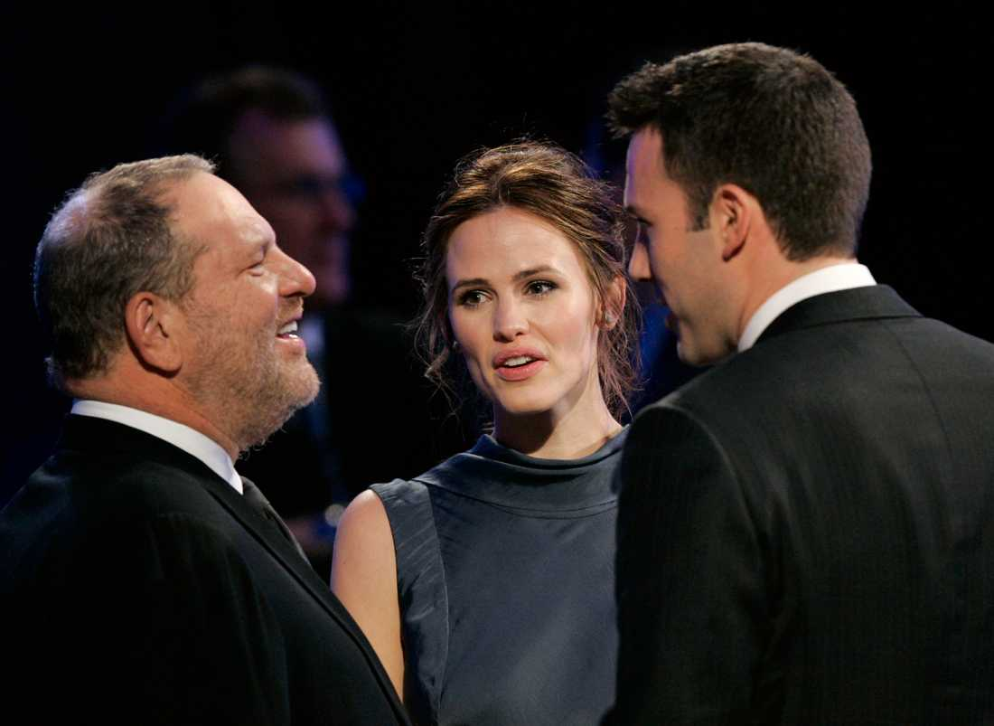 Harvey Weinstein, Jennifer Garner och Ben Affleck 2007.