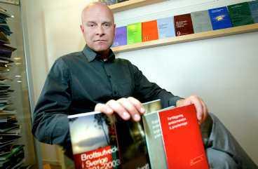 Erik Grevholm är avdelningschef vid Brottsförebyggande rådet.
