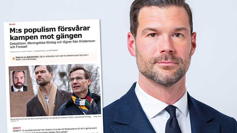 Fler poliser, kraftigt skärpta straff, visitationszoner, kriminalisera deltagande i gängen, förstärkt övervakning av gängledarena och skärpta regler för utvisning av utländska medborgare. Det är politik som har har fungerat i Danmark och skulle fungera även här, skriver Johan Forssell.