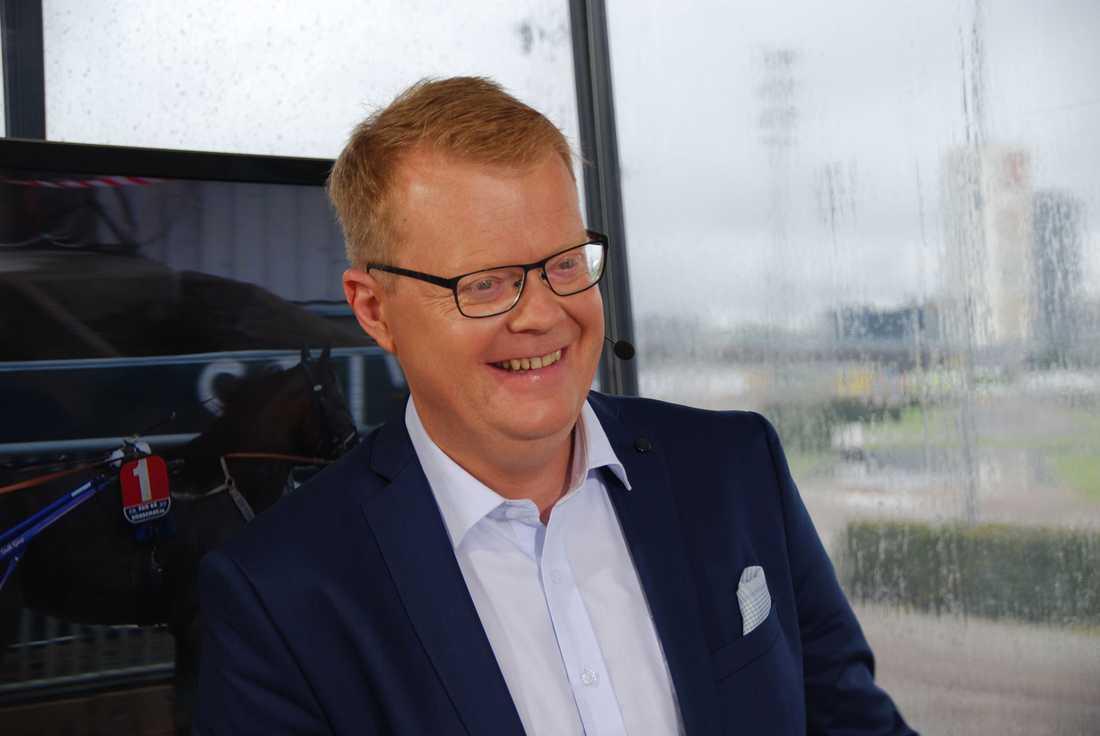 Göran Borgås har jobbat 20 år inom trav-tv.