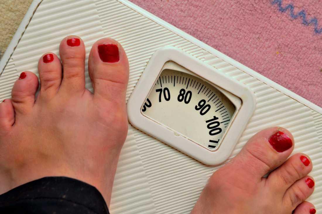 En ny studie visar ett tydligt samband mellan fetma hos unga kvinnor och hjärtsvikt senare i livet. Arkivbild