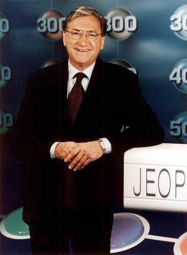 """""""JEOPARDY!"""" STÄLLDES IN Magnus Härenstam och """"Jeopardy!"""" var ett av programmen som utgick i går i TV 4. Även de andra tv-kanalerna ändrar om på grund av Irakkriget."""