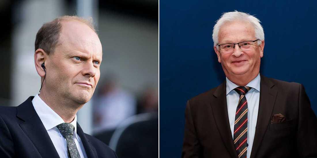 TV4-profilerna Granqvist och Backe var på plats i USA och fick se sin Greenshoe sluta tvåa i jätteloppet Hambletonian