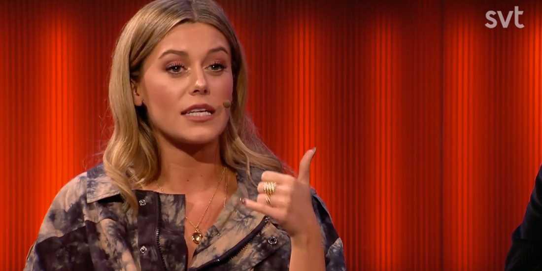"""Bianca Ingrosso berättar i """"Robins"""" om gången då hon lurade i Benjamin Ingrosso att han var adopterad."""