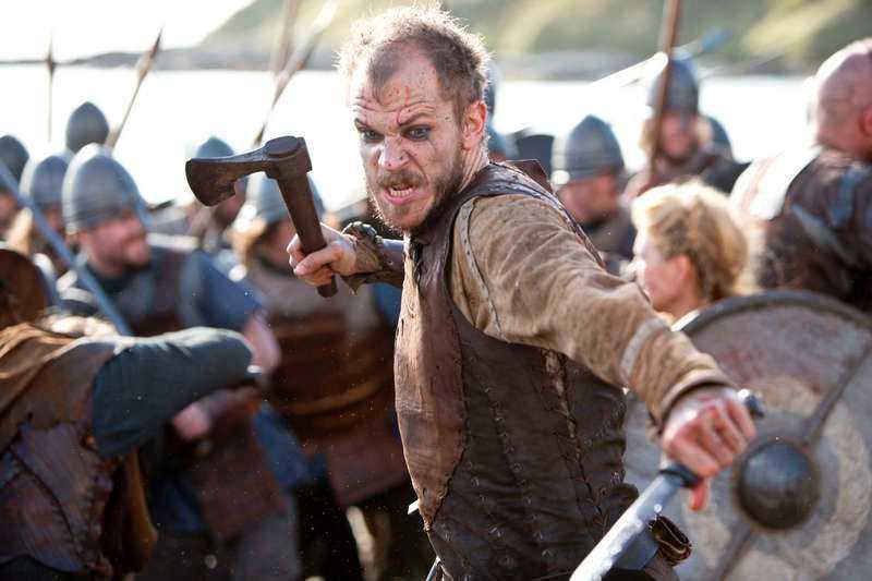 """Gustaf i serien """"Vikings"""". Foto: HISTORY CHANNEL"""