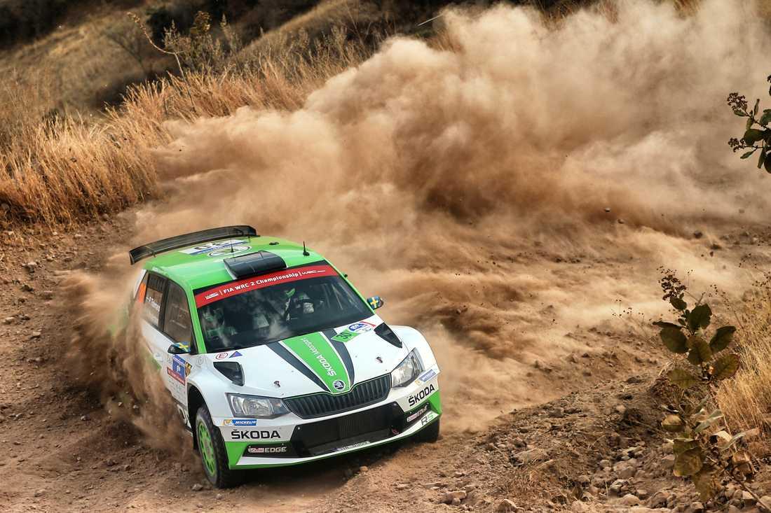 Pontus Tidemand vann WRC2 i Mexiko