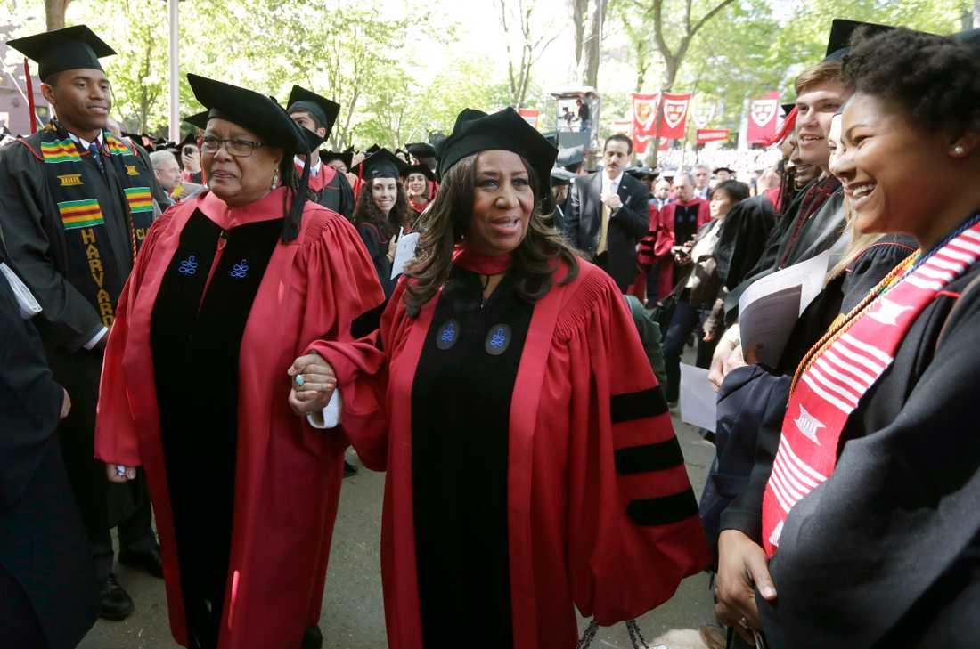 2014 utsågs Franklin till hedersdoktor vid Harvard university i Cambridge, Massachusetts.