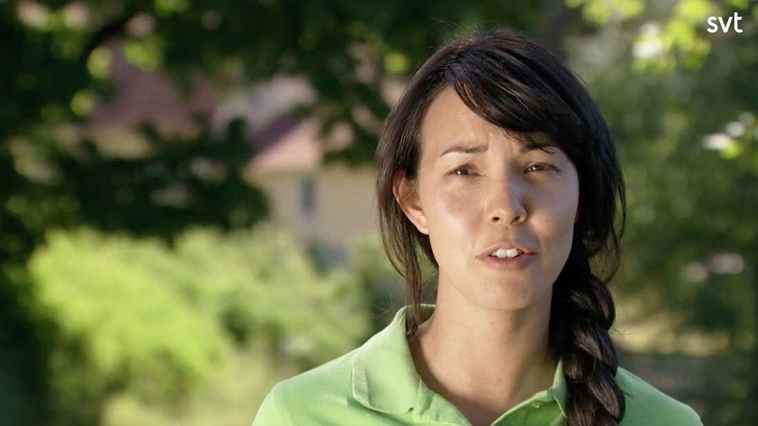 """Christina Wight tvingades lämna """"Allt för Sverige""""."""