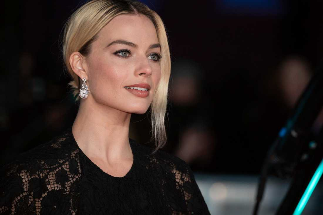 Margot Robbie ska spela i en ny film, mot Christian Bale. Arkivbild.