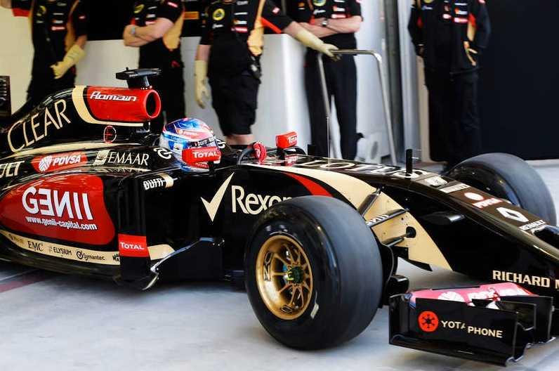 Lotus E22.