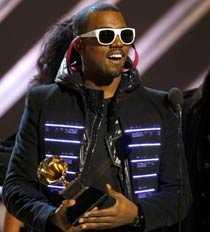 Kanye West fick bland annat priset för Årets rapalbum.