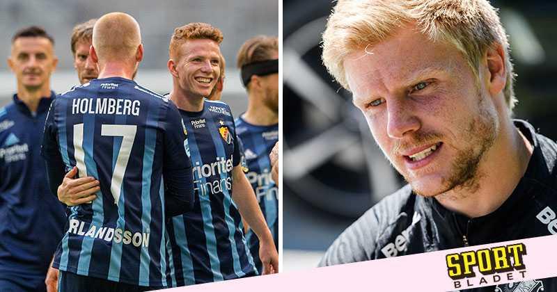 Därför jublar AIK:s målvakt åt derbyt mot Djurgården