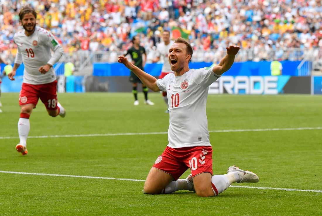 Får Christian Eriksen jubla mot Kroatien?