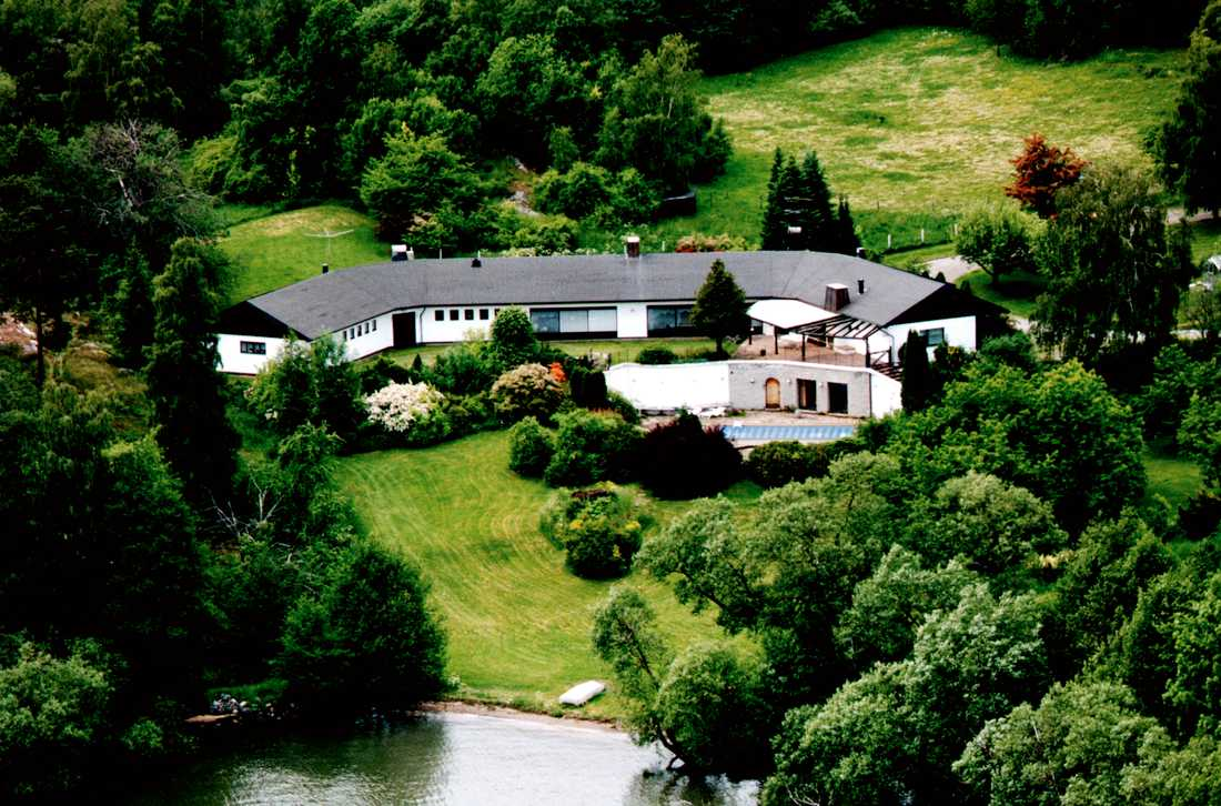 Agnetas hus på Ekerö.