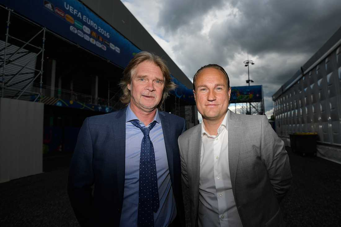 Glenn Strömberg och Chris Härenstam kommenterar VM-rysaren.