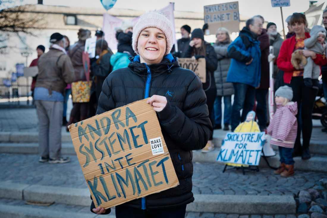 Andreas Magnusson fortsätter sin kamp för klimatet och laddar för Global Climate Strike 24 maj.