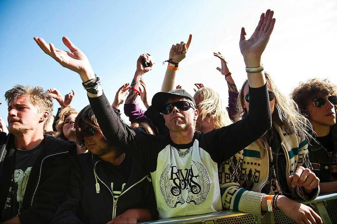 PUBLIKMAGNET Trots att Sweden Rock är Sveriges dyraste festival har den sålt slut de senaste åren.