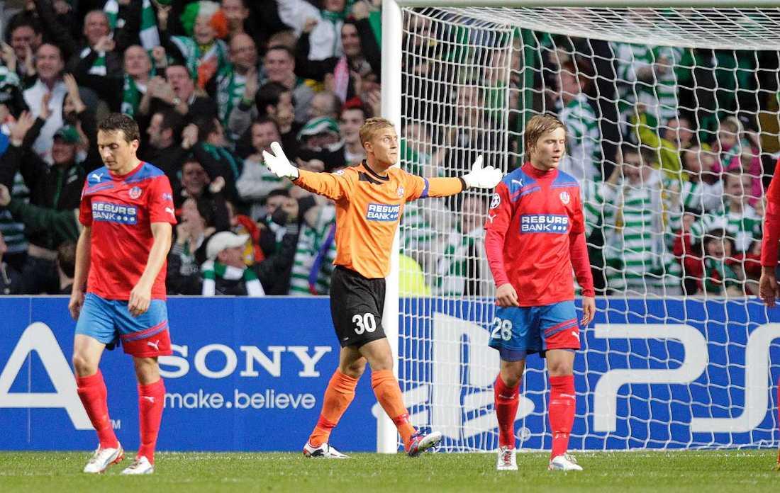 HIF föll mot Celtic i CL-kvalet - nu väntar gruppspel i Europa League.